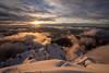 Neve e nuvole (Valerio Seveso) Tags: neve ghiaccio ice mountain grigan lombardia
