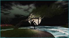 Au clair de lune ... (Tim Deschanel) Tags: tim deschanel sl second life exploration landscape paysage theruinsofdeepmarsh beck ruins deepmarsh lune moon