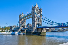 Tower Bridge (Kilian ALL) Tags: londres london angleterre england royaume uni united kingdom hdr high dynamic range photomatix ciel sky blue bleu tower bridge tamise thames
