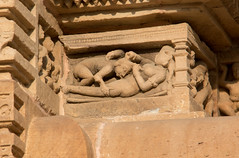 Erotic sculpture at the Lakshmana Temple S24A8551 (grebberg) Tags: madhyapradesh khajuraho kamasutra temple westerngroupoftemples chandeladynasty chandela hinduism india march 2018 lakshmanatemple lakshmana lordshiva shiva erotic sculpture