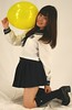 Saved This From Senior Prom. (emotiroi auranaut) Tags: girl school senior nice uniform classy pretty beauty beautiful sweet gorgeous fetching lovely attractive charming face hair style fashion outfit socks shoes yellow toy balloon babe sweetie