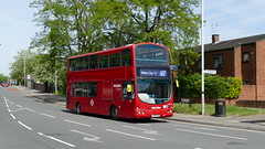 The B7 Express (londonbusexplorer) Tags: metroline west volvo b7tl wrightbus gemini vw1565 lk55aau 607 uxbridge white city limited stop tfl london buses