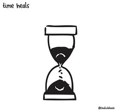 Time heals (khalid Albaih) Tags: khartoon khalidalbaih sudan cartoon illustration palestine israel gcc qatar mbs mbz trump السودان خرطون خالد البيه كركتير