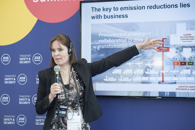 Sophie Punte discusses how businesses hold the key to emission reductions