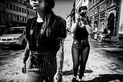 images on the run.... (Sean Bodin images) Tags: streetphotography streetlife seanbodin streetportrait photojournalism people copenhagen citylife candid city citypeople perker smoke cigaret cityscape reportage amagertorv københavn købmagergade canon fujifilm xpro2