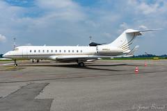 Private / Globaal 6000 / N983J (Jonas_Evrard) Tags: aviation airport aircraft airplane antwerp antwerpairport spotting spotter airside bizzjet