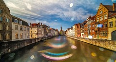 Bruges with Flare (YᗩSᗰIᘉᗴ HᗴᘉS +17 000 000 thx) Tags: flare bruges water laowa laowa12mm town city hdr grandangle hensyasmine belgium europa aaa namuroise look photo friends be wow yasminehens interest intersting eu fr greatphotographers lanamuroise