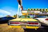 Route 66 Restaurant (Thomas Hawk) Tags: america newmexico route66 route66restaurant santarosa usa unitedstates unitedstatesofamerica neon restaurant us fav10 fav25 fav50 fav100 thunderbird ford