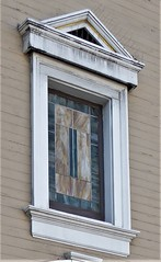 San Francisco, Noe Valley, Stained Glass Window (Mary Warren 13.5+ Million Views) Tags: sanfranciscoca noevalley architecture building house residence urban