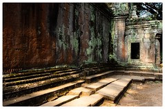 Ancient colour palette (Johnbasil1) Tags: soft history discovered ruin ancient pastel colour temples cambodia angkor taprohm