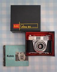 Camera of the Day - Kodak Retina IIS (Type 024) (TempusVolat) Tags: picmonkey garethwonfor gareth wonfor tempusvolat tempus volat mrmorodo kodak retina camera 35mm film vintage boxed mib 1950s collection chrome retinaiis iis