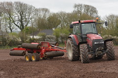 Case IH MXM 155 Pro Tractor with a Vaderstad Rexius 1230 Cambridgeshire Ring Roller (Shane Casey CK25) Tags: case ih mxm 155 pro tractor vaderstad rexius 1230 cambridgeshire ring roller midleton traktor tracteur traktori trekker trator county cork ciągnik casenewholland cnh red sow sowing set setting drill drilling tillage till tilling plant planting crop crops cereal cereals ireland irish farm farmer farming agri agriculture contractor field ground soil dirt earth dust work working horse power horsepower hp pull pulling machine machinery grow growing nikon d7200