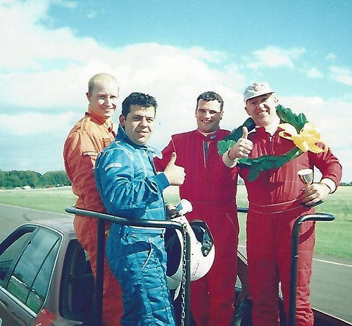 Podium car at Combe 2000 - Copy