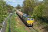 66_610_Hadley_26_04_18 (chrisbe71) Tags: 6k75 66610 freightliner gm emd shed hadley telford donnington