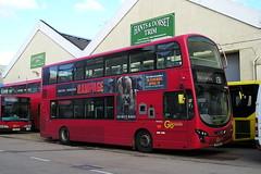 Go AHead London. BV10 WVJ (KK70088) Tags: bus britishbuses servicebus goahead londonbus volvo wright hantsdorsettrim bv10wvj