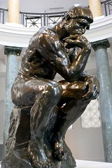 The Thinker by Auguste Rodin, Cantor Arts Center (ali eminov) Tags: paloalto california universities stanforduniversity museums cantorartscenter sculptors augusterodin sculptures thethinker