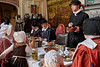 Tudor Meal (s andrews) Tags: tudor costume history table eating hall