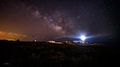 Cap Blanc, Mallorca. (AGONZA) Tags: estrellas faros nocturna agonza láctea nikond750