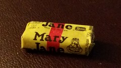Mary Jane candy (Adventurer Dustin Holmes) Tags: maryjane candy wrapper 2018 vintage food sweets treats necco