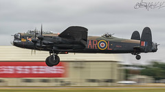 Royal Air Force Battle of Britain Memorial Flight Avro Lancaster B.I PA474 (benji1867) Tags: royal air force battle britain memorial flight avro lancaster bi pa474 raf fairford coningsby avgeek avporn aviation fly flying canon 7d2 warbird bomber leader airshow show demo demonstration display international tattoo