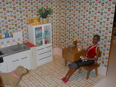 room cupcake kitchen 3 (chinadreammommy) Tags: doll diorama kitchen rement barbie 16 miniature