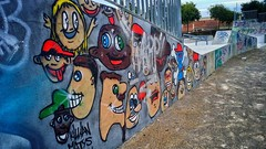 Street Art 🎨 (j૯αท ʍ૮ℓαท૯) Tags: graffiti art wall street painting mural people vandalism illustration creativity spray design culture fun child visuals old