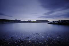 North Beach Greystones (OgniP) Tags: sea landscape water beach mountain longexposure