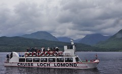 Goodbye Inversnaid (brightondj - getting the most from a cheap compact) Tags: 2010s 2017 scotland scotlandholiday inversnaid ferry arrocharalps lochlomond 2017august