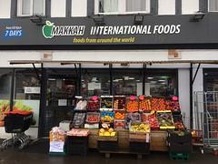 Makkah International Foods York (Christopher Arundel) Tags: makkah international food foods middleeast middleeastern spices hullroad shop window melrosegate