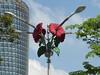 Poppy (m_artijn) Tags: poppy traffic light kuala lumpur mys trafficlight building sky sunny cloud