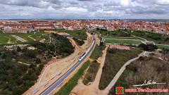 Llegando a Zamora (Luis Cortés Zacarías) Tags: bosque zamora tren túnel via ferrocarril valorio alvia