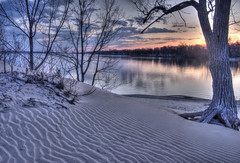 A glorious dawn (jaros 2(Ron)) Tags: sandbanks sandbanksprovincialparkontariocanada nikond800 splitndgradfilters west lake ontario canada westlake dawn firstlight