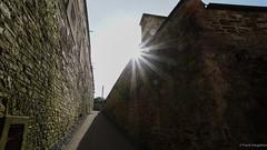 Festung Ehrenbreitstein (frankdorgathen) Tags: alpha6000 sony1018mm weitwinkel wideangle wand wall stein brick stone gebäude building rheinlandpfalz koblenz ehrenbreitstein festung frühling spring sun sonne