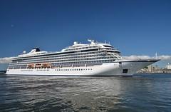 Viking Sea (Hugo Sluimer) Tags: vikingsea aalborg cruiseship cruise cruises cruiseterminal cruiser cruiseschip port havn viking vikingocean vikingoceancruises