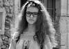 l'inconnue du marché 1 (quentinmirabelle) Tags: portrait noir et blanc black white monochrome inconnue marché fille gros plan jeune