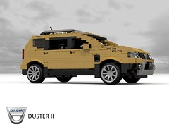 Dacia Duster II (lego911) Tags: dacia duster ii 2018 2010s cuv crossover renault renaultnissan b0 romania auto car moc model miniland lego lego911 ldd render cad povray eastern europe south america india 4wd 4x4 compact wagon suv