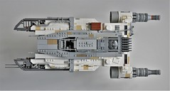 Ryder's U-wing (Top View) (Inthert) Tags: lego moc uwing ship star wars rebels ryder lothal cockpit airplane aircraft sky