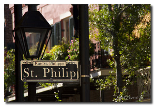 St. Philip street sign - New Orleans
