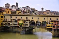 Firenze aka Florence, Italy (Larry Lamsa) Tags: firenze florence italy lamsa uffizi uffizigallery pontevecchio