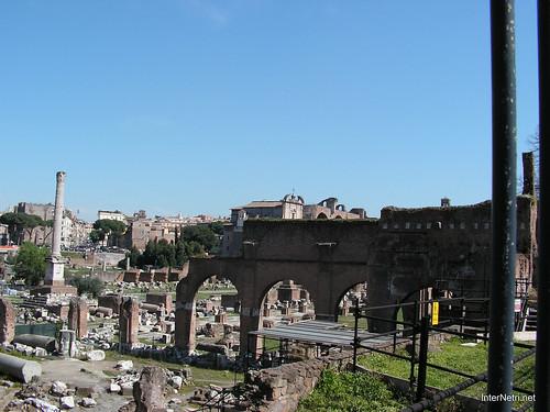Римський форум, Рим, Італія InterNetri Italy 386