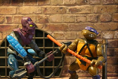 The power of the Bō stuff ! (Mike's Toy Story) Tags: don ninja bō vintage platmates turtles tmnt 1988