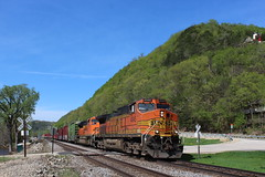 BNSF 4045 (CC 8039) Tags: lynxville bnsf trains ac44cw c449w sd70ace wisconsin