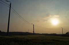 evening walk (bart_azare) Tags: eveningwalk evening walk landscape hometown