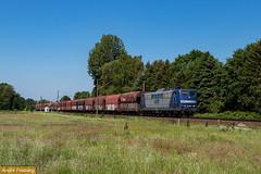 RBH 151 084 mit Kohlezug (tsp-Photos) Tags: rbh 151084 br 151 eisenbahn zug güterzug kohlezug freight train trein lokomotive locomotive lok railroad bahn osnabrück jeggen