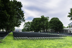 Grounds crew sets up 24,000 chairs for U of Virginia graduation (TAC.Photography) Tags: universityofvirginia chairs graduation graduationceremony school college students ceremony honors charlottesvillevirginia tacphotography tomclarknet 2018yip