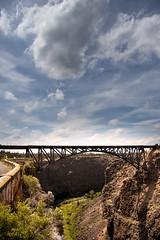 Crooked River Bridge (austinspace) Tags: bridge railroad canyon highdesert