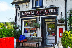 Kenmore Post Office (eric robb niven) Tags: ericrobbniven scotland kenmore post office cycling
