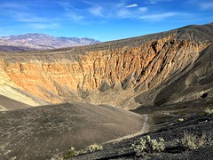 Ubehebe Crater, Death Valley (PeterCH51) Tags: ubehebe crater ubehebecrater deathvalley california usa volcano iphone peterch51 deathvalleynationalpark dvnp america scenery landscape desertscenery desertlandscape volcaniclandscape volcanicscenery