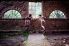 """""""Les hommes écoutent, les femmes épient"""" (CMBR_les_cameleons) Tags: urbex woman nude"""
