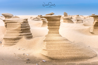 North Sea Island Juist - Sandsculptures #7
